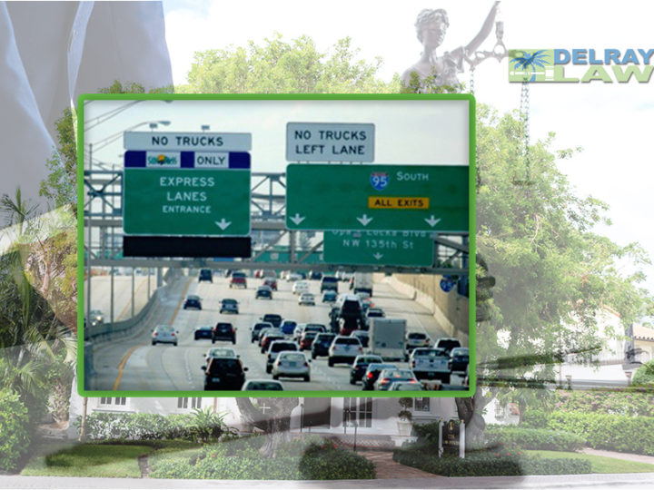 I-95 express lanes will be extended into southern Palm Beach County, as far north as Delray Beach | Delray Law PLLC